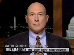 Jeff Gannon, the former gay male escort/White House Corespondent, ...